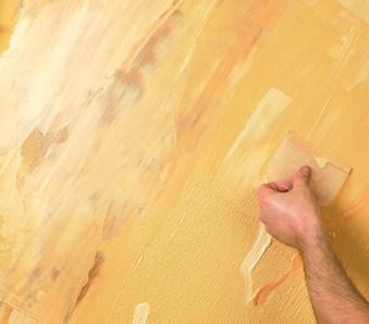 Pitture decorative per interni EFFETTO SPATOLATO